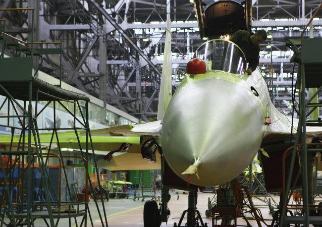 Fàbrica de aviones de corporación rusa Irkut