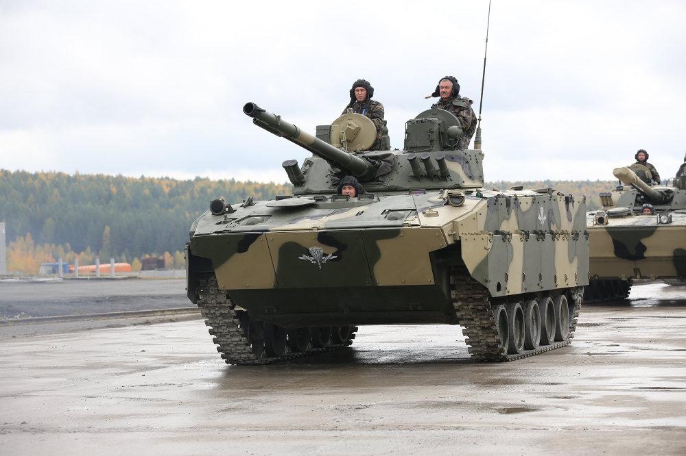 Carros blindados rusos