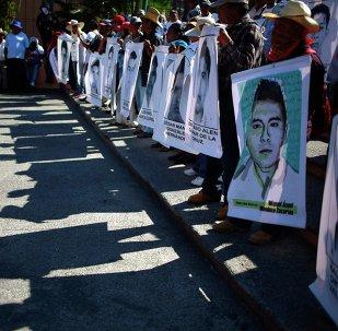 Imágenes de los desaparecidos de Ayotzinapa (archivo)