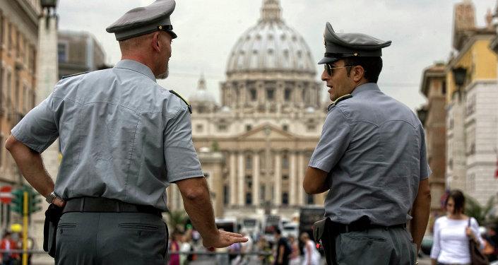 La policía italiana