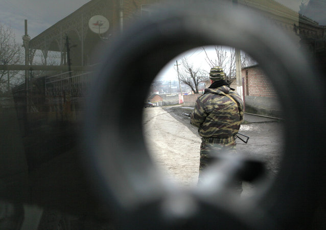 Fuerzas de seguridad en Ingusetia