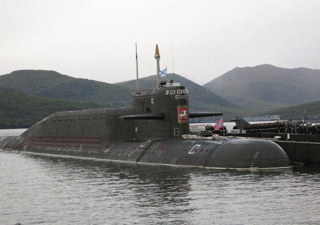 Crucero atómico ruso San Jorge el Victorioso