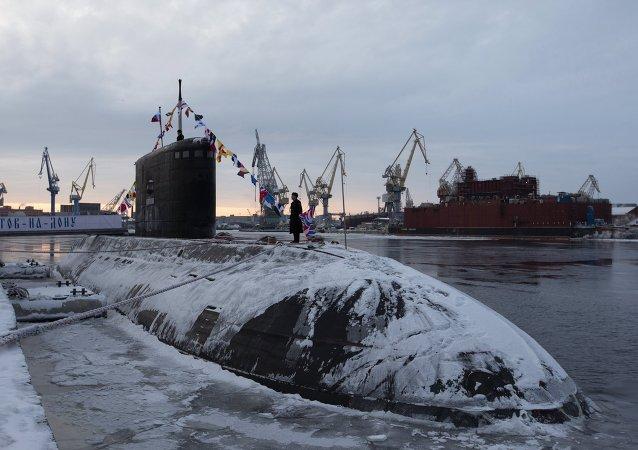 La Armada de Rusia recibe un nuevo submarino diésel-eléctrico