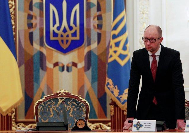 Arseni Yatseniuk, primer ministro de Ucrania
