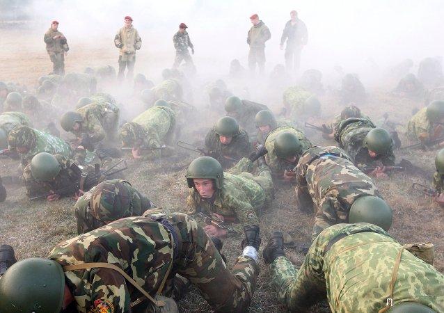 Los militares bielorrusos