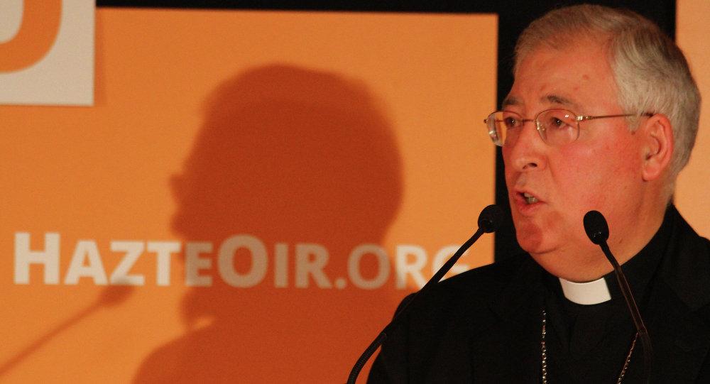 Испанский эпископ Juan Antonio Reig Plà
