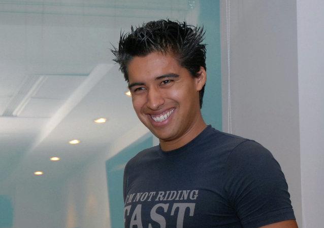 Эквадорский футболист Кристиан Нобоа