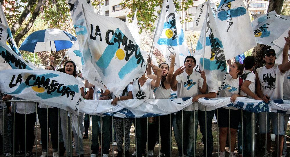 Cristina Fernandez de Kirchner y La Campora