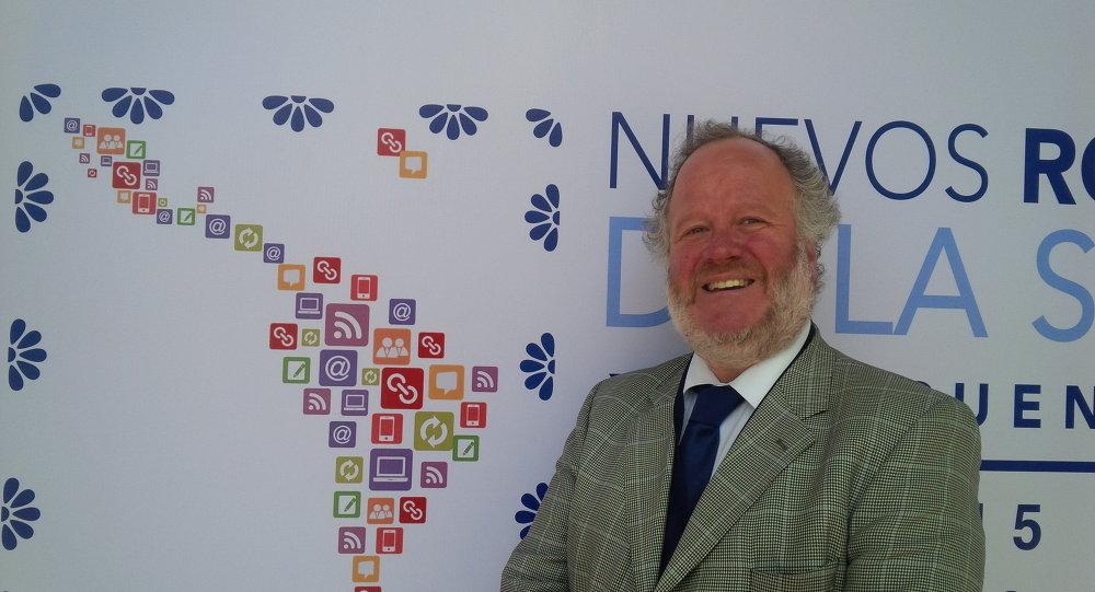 Francisco Aylwin, en el marco del XII Encuentro Iberoamericano de la Sociedad Civil