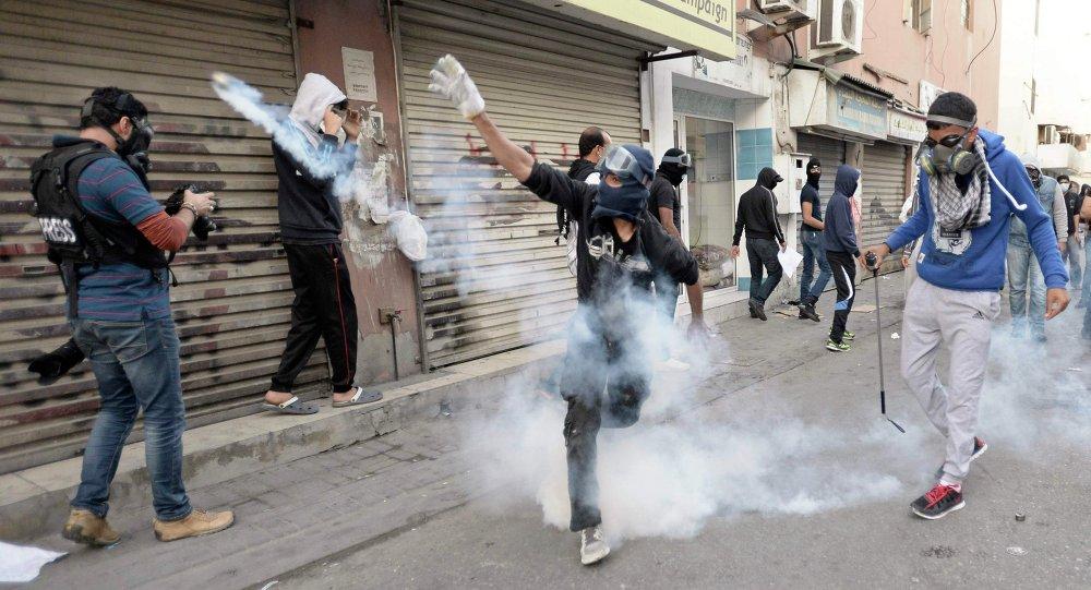 Protesta opositora en Baréin