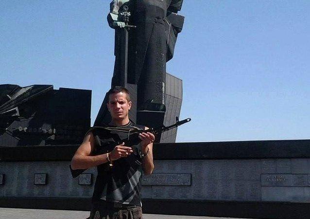 Rafa, uno de los españoles que se han ido a Donetsk