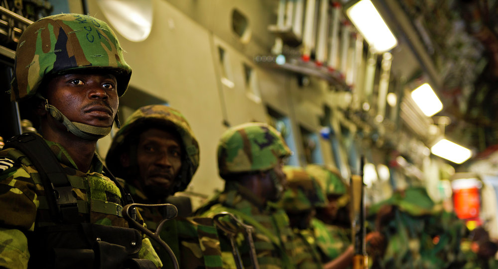 Burundi soldiers arrive in Central African Republic