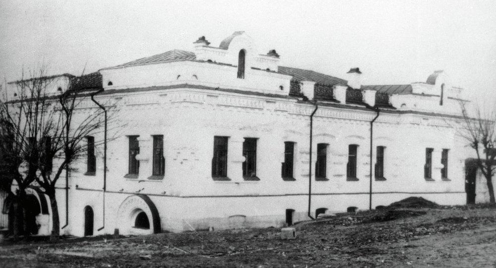 La casa Ipátiev, donde en 1918 fue asesinado el zar Nicolás II junto a su mujer y sus hijos