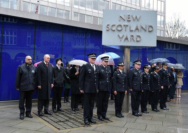 La Polícia británica (archivo)