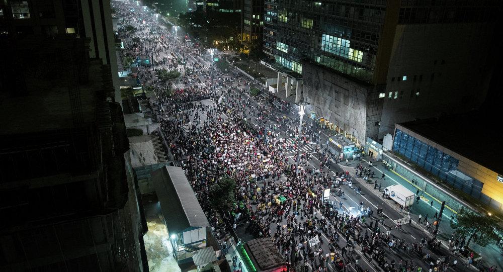 Движение passe livre в Бразилии