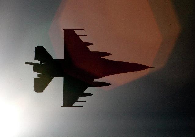 Avión F-16 de la Fuerza Aérea de EEUU