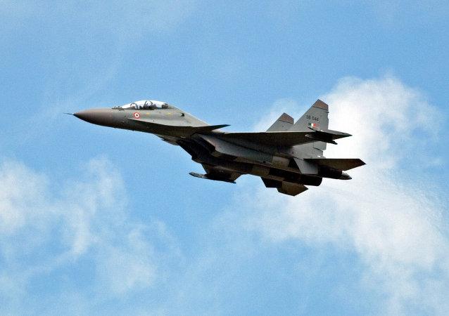 Su-30 MKI de la Fuerza Aérea de la India