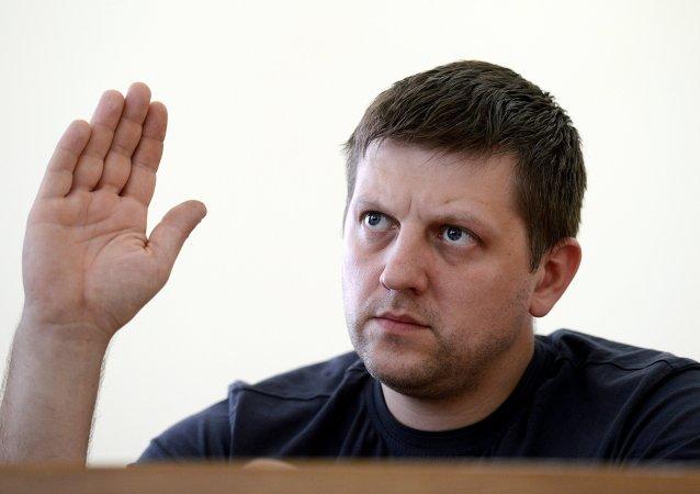 Alexéi Kariakin, presidente del Consejo Popular (Parlamento) de la RPL