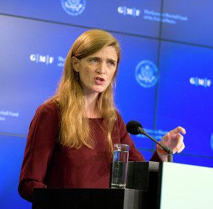Samantha Power, representante permanente de EEUU ante las Naciones Unidas