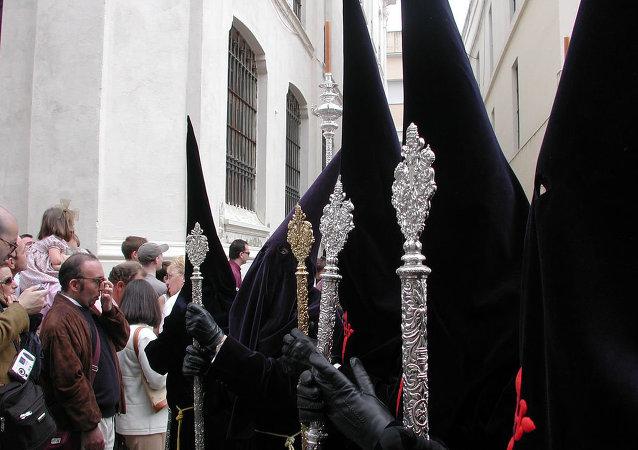 Semana Santa en Sevilla (archivo)