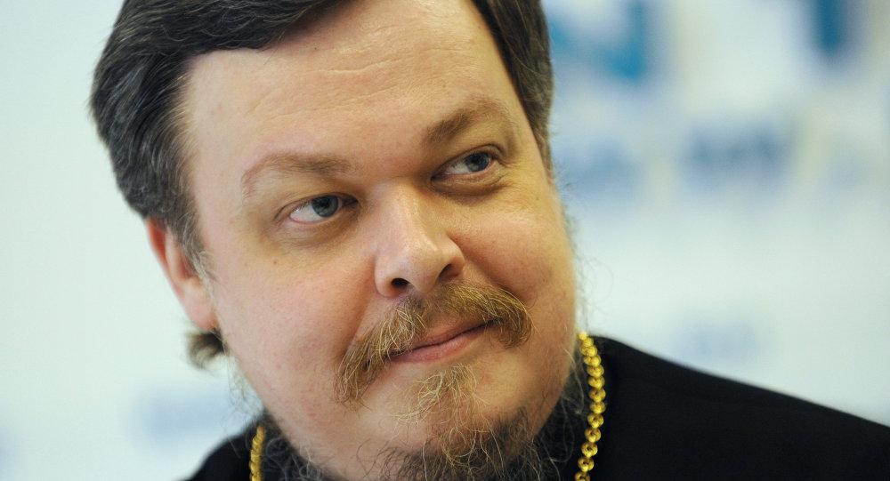 Vsévolod Chaplin, padre de la Iglesia Ortodoxa rusa