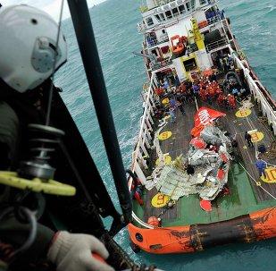 Rescate de los restos del avión de AirAsia