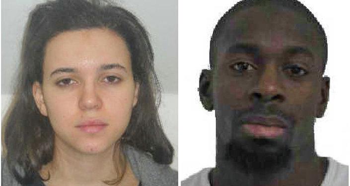 Hayat Boumeddiene y Amédy Coulibaly