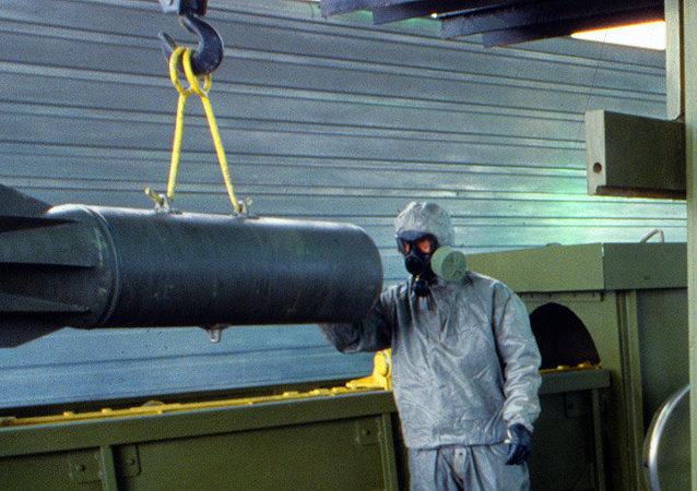 Destrucción de armas químicas