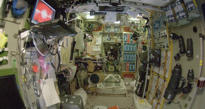 Módulo Zvezda de la Estación Espacial Internacional