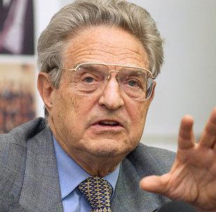 El financiero e inversor estadounidense George Soros