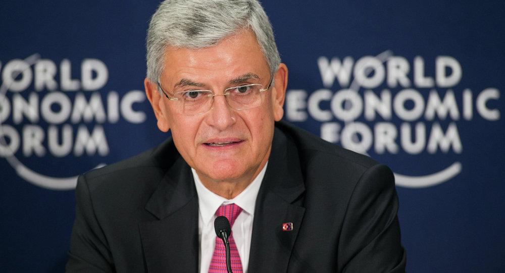 Volkan Bozkir, ministro de Asuntos Europeos de Turquía