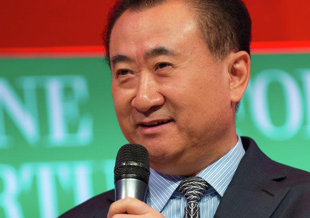 Wang Jianlin, magnate chino
