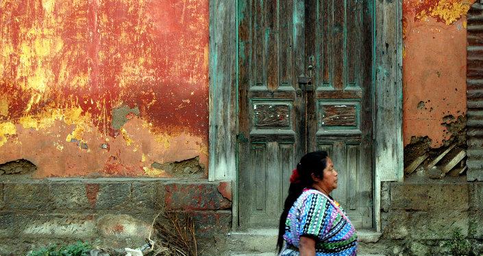Una mujer en Guatemala
