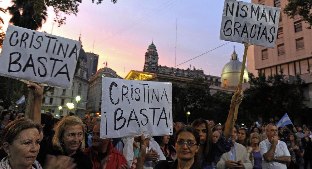 Muerte de Alberto Nisman causó indignación en la sociedad argentina