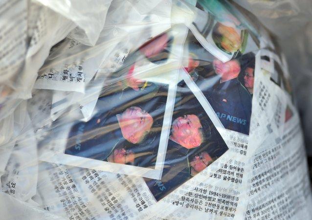 Activistas rehúsan arrojar sobre Corea del Norte DVDs con la película La Entrevista