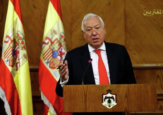 José Manuel García-Margallo, ministro español de Asuntos Exteriores