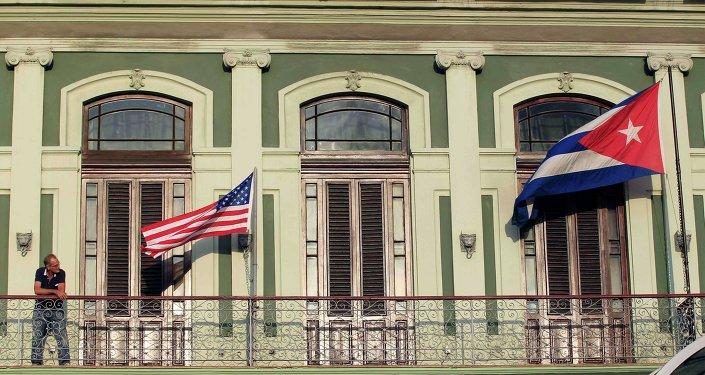 Zajárova: las decisiones sobre Cuba revelan lo imprevisible que es EEUU