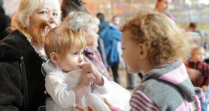 Refugiados ucranianos en Rusia