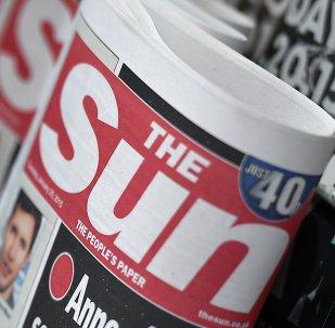 Periódico 'The sun'