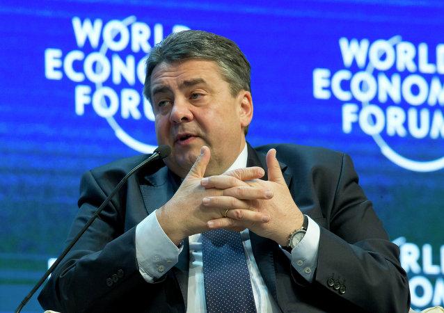 Zigmar Gabriel, ministro de Economía alemán