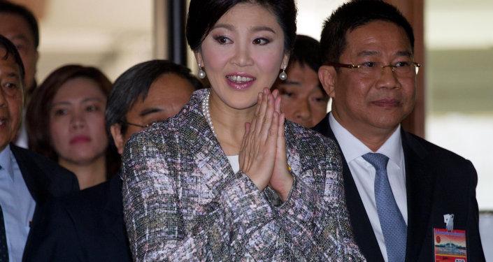 Yingluck Shinawatra, ex primera ministra de Tailandia (archivo)