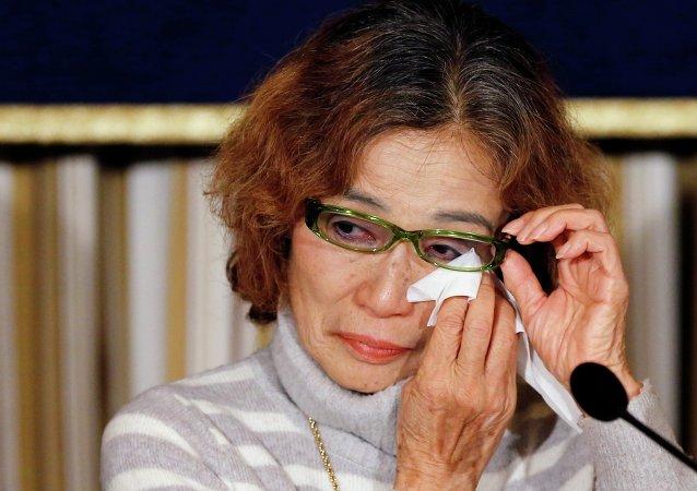 Junko Ishido, madre de Kenji Goto