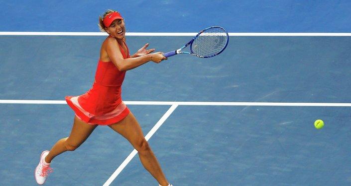 María Sharapova, tenista rusa