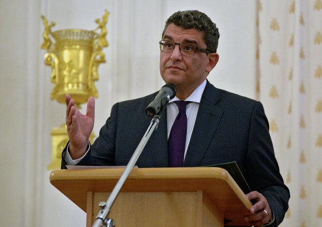 Mohamed al Badri, embajador de Egipto en Rusia