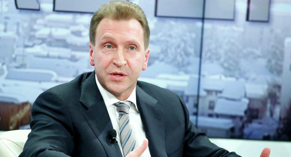Ígor Shuválov, vice primer ministro del Gobierno de Rusia.