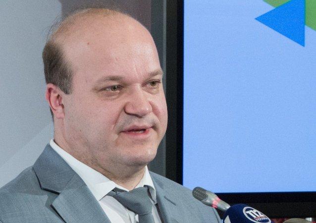 Valeri Chali, jefe adjunto de la administración del presidente de Ucrania