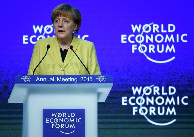 Canciller de Alemania Angela Merkel