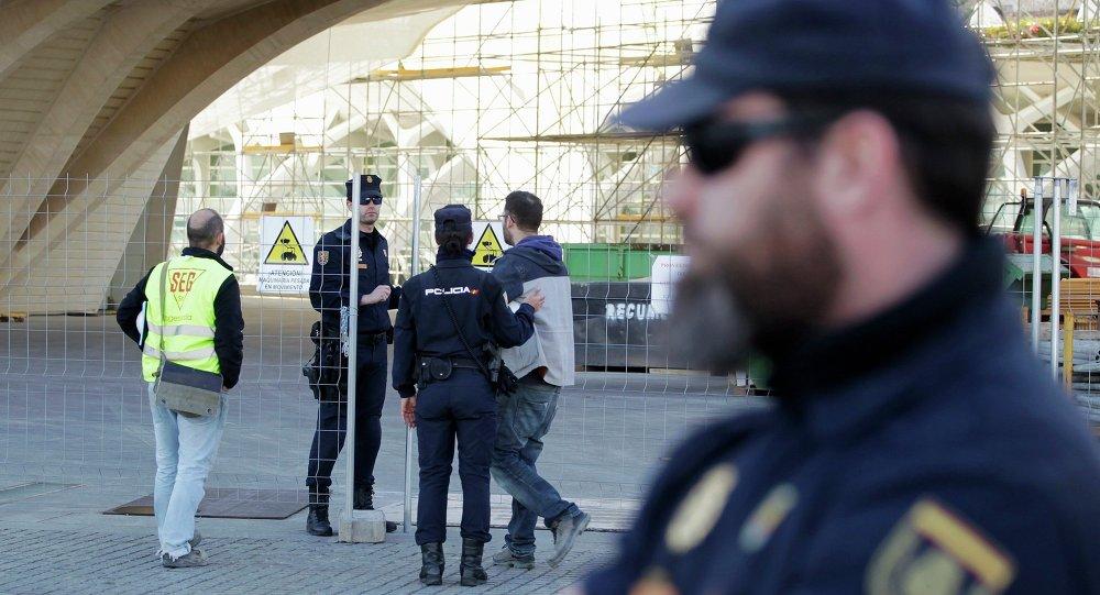 La Policía Nacional española (archivo)