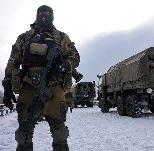 Las milicias de Donetsk (Archivo)