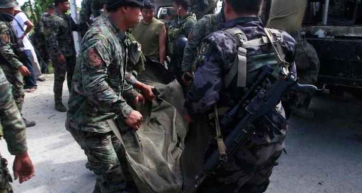 La policía filipina